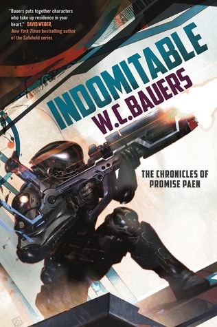 Review: Indomitable by W.C. Bauers