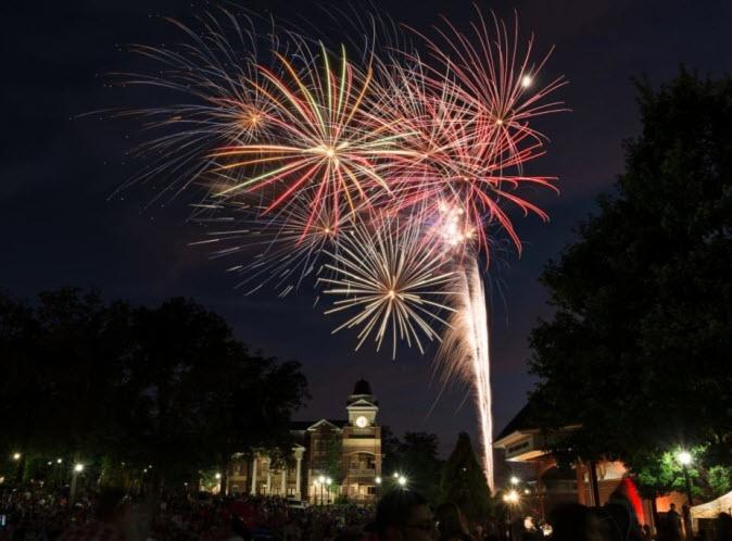 July 4 Fireworks, Duluth GA