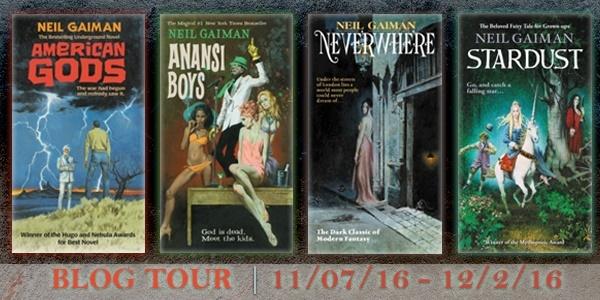 Neil Gaiman Stardust tour banner