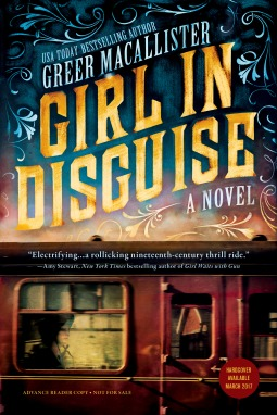 Review: Girl in Disguise by Greer Macallister + Giveaway
