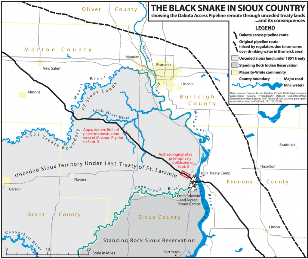 DAPL route map by Carl Sack, CC-BY