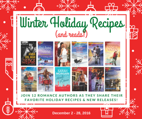TLC winter holiday recipes tour button