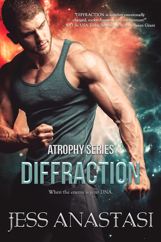 Review: Diffraction by Jess Anastasi + Giveaway