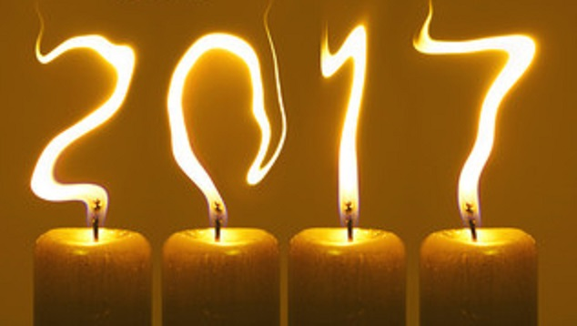 2017 in candle flames