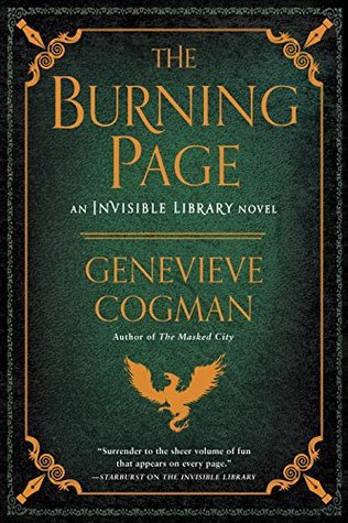 Review: The Burning Page by Genevieve Cogman