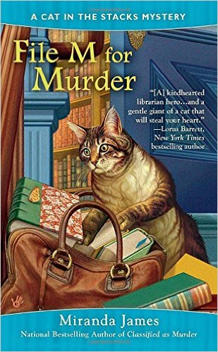 Review: File M for Murder by Miranda James