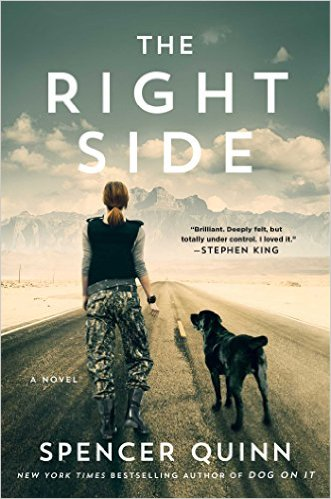 Review: The Right Side by Spencer Quinn + Giveaway