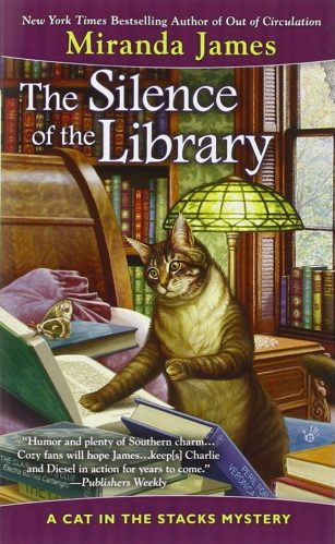 Review: The Silence of the Library by Miranda James