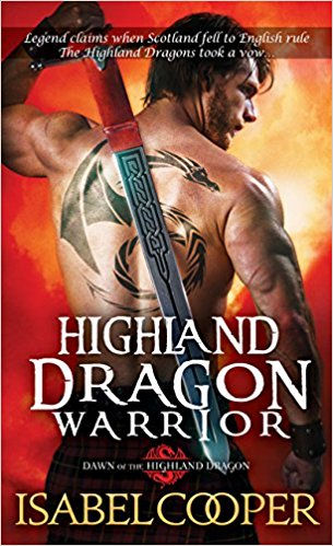 Review: Highland Dragon Warrior by Isabel Cooper + Giveaway