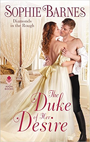 Review: The Duke of Her Desire by Sophie Barnes + Giveaway