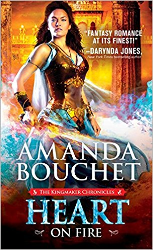 Review: Heart on Fire by Amanda Bouchet + Giveaway