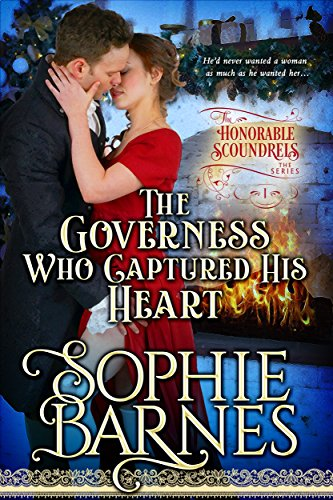 Review: The Governess Who Captured His Heart by Sophie Barnes + Giveaway