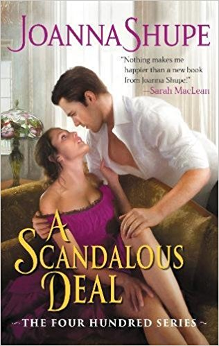 Review: A Scandalous Deal by Joanna Shupe + Giveaway