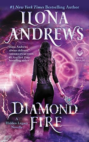 Review: Diamond Fire by Ilona Andrews + Giveaway
