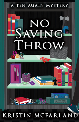 Review: No Saving Throw by Kristin McFarland