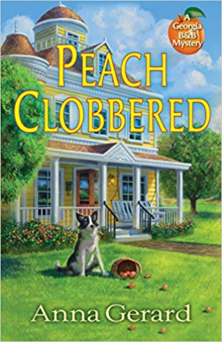 Review: Peach Clobbered by Anna Gerard + Giveaway