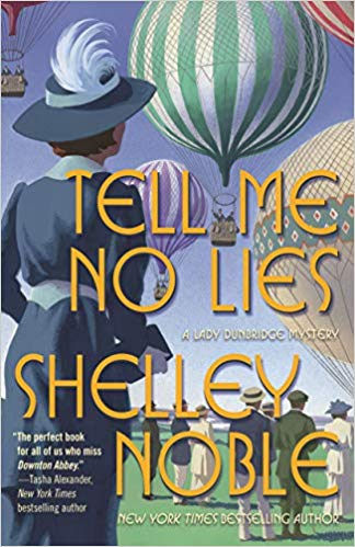 Review: Tell Me No Lies by Shelley Noble + Giveaway