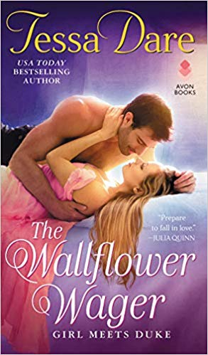 Review: The Wallflower Wager by Tessa Dare + Giveaway