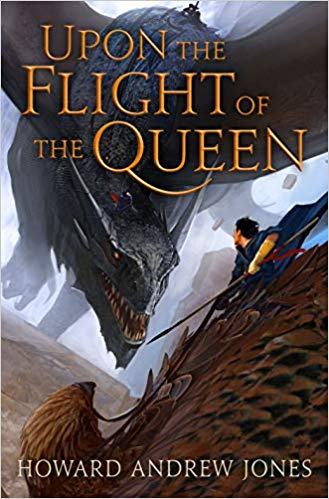 Review: Upon the Flight of the Queen by Howard Andrew Jones