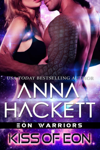 Review: Kiss of Eon by Anna Hackett