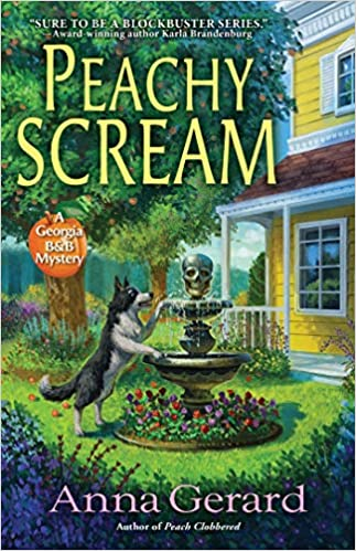 Review: Peachy Scream by Anna Gerard + Giveaway
