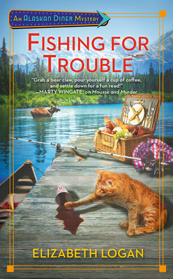 Review: Fishing for Trouble by Elizabeth Logan + Giveaway
