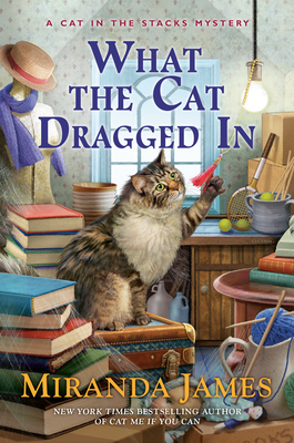 Review: What the Cat Dragged In by Miranda James