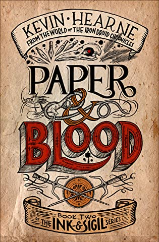 Review: Paper and Blood by Kevin Hearne