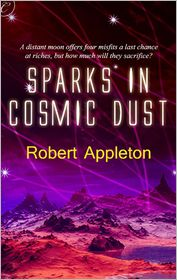 [cover of Sparks in Cosmic Dust]