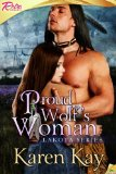 [cover of Proud Wolf's Woman]